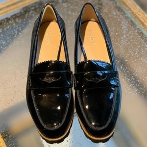 COACH Patent Leather Payton Loafer